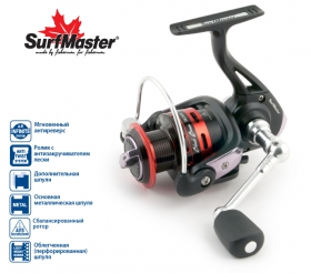 Катушка Surf Master Black Bass