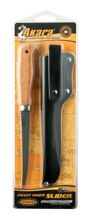 Кожаный нож ремень Телохранитель-2, черный