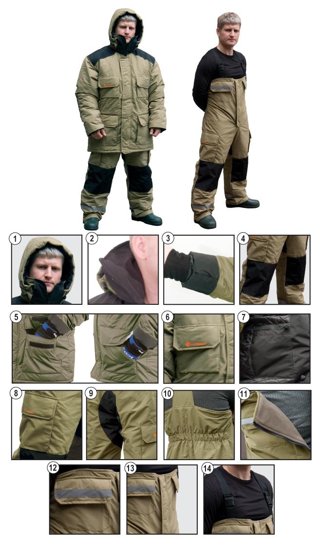 одежда на рыбалку норфин